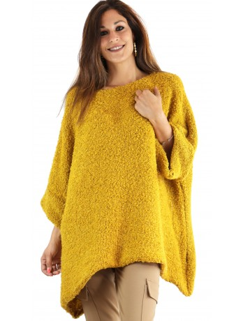 Pull Cosy moutarde