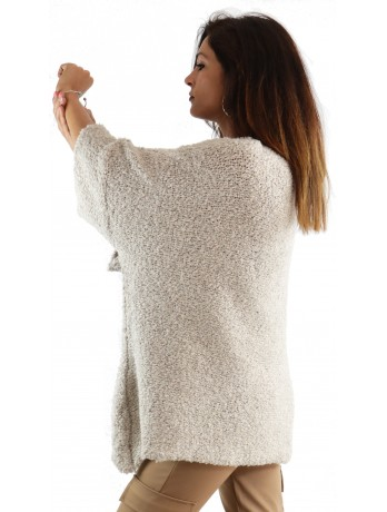 Pull Cosy beige