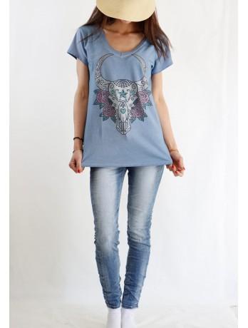 T-shirt buffe