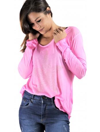 Tee shirt Imprimé Star Rose