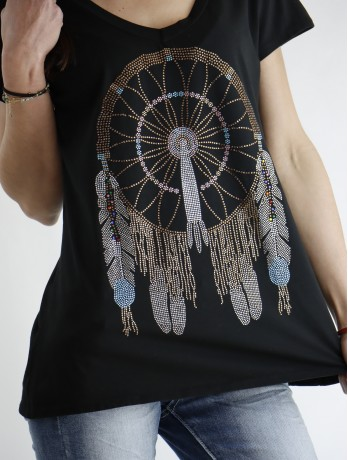 T-shirt Indianne