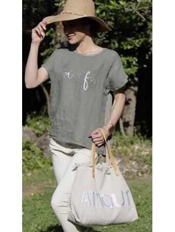 T-shirt Vert Beautiful