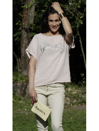 T-shirt Rose Beautiful