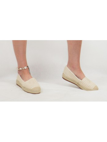Chaussures espadrilles tissées